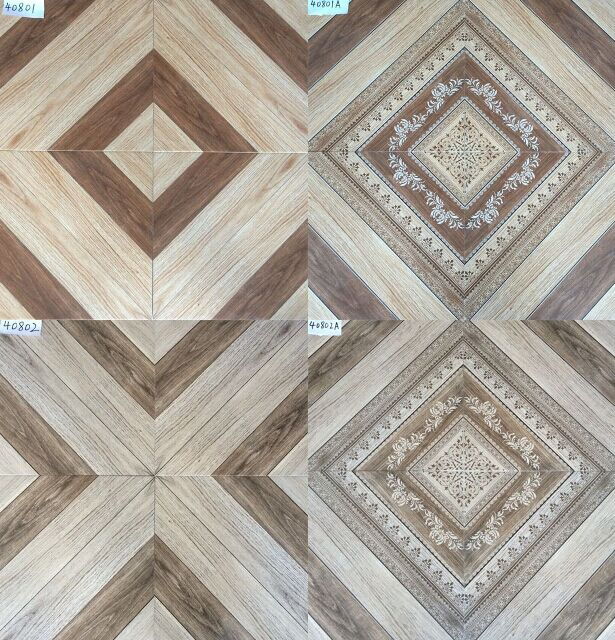 Wear Resistant Ceramic Tile Flooring / Porcelain Floor Tiles Multi Style
