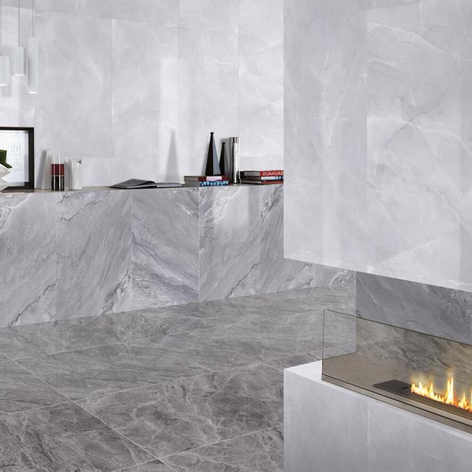 Glazed Polished Porcelain Tile / Villa Floor And Decor Marble Tile