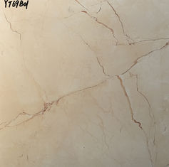 China Beige Color Ceramic Tile 600x600mm Decoration Marble Floor Tile supplier