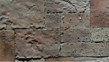 Castle Exterior Wall Outdoor Cultured Stone / Cultured Stone Wall Panels