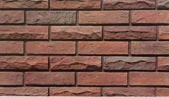 Split Design Artificial Brick Wall Panels For High Class Communities