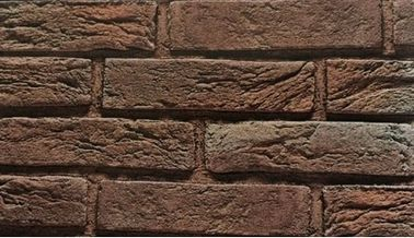 Maintenance Free Faux Brick Wall Panels Weathered Design For Landscape Gardens
