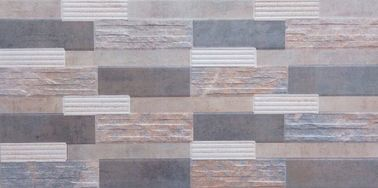 Multi Functional Stable Ceramic Wall Tile Firebrick Clear And Vivid Designs supplier