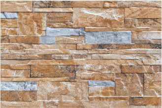 Stone Look Wall Tiles / Bathroom Stone Wall Tiles With 333 X 500 Mm Size