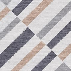 Geometric Fabric Style Rustic Porcelain Tile Inkjet Printing Technique supplier