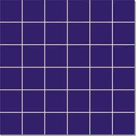 Multi Function 48 × 48mm Porcelain Mosaic Tile For Project Purple And Black