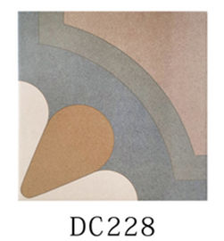 High Performace Decorative Ceramic Tile With Art Patterned Heat Insulation