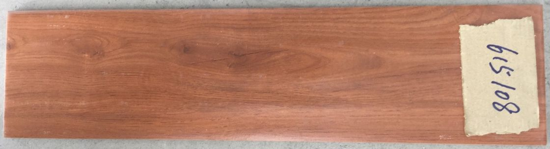 Dark Brown Wood Grain Tile Exquisite Design 150 X 600 Mm Size For Project