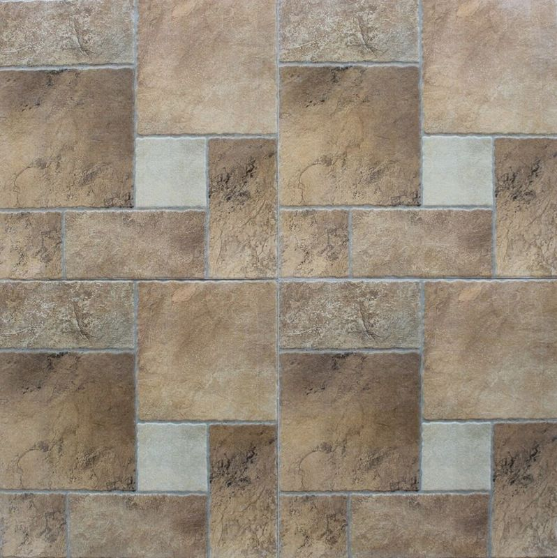 China Ancient Ceramic Tile Flooring / Outdoor Patterned Floor Tiles 30x30cm discontinued tiles factory