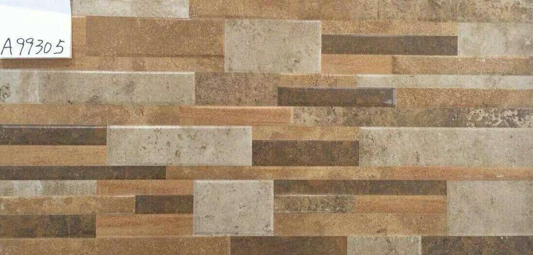 China Rustic Ceramic Tile Bathroom Wall Tiles Stone Like Decoration Supplier