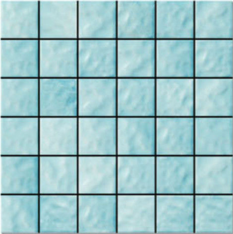 China Antibacteria 48 × 48mm Porcelain Mosaic Bathroom Tiles Low Water Absorption factory