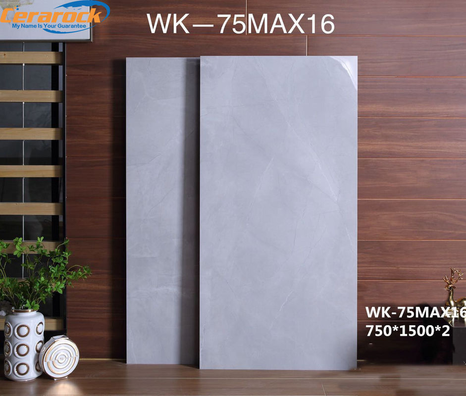 Glazed Polished Porcelain Tile / Villa Floor And Decor Marble Tile supplier