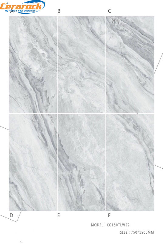 Fashionable Polished Marble Tiles Interior Floor Decoration Material AAA Grade
