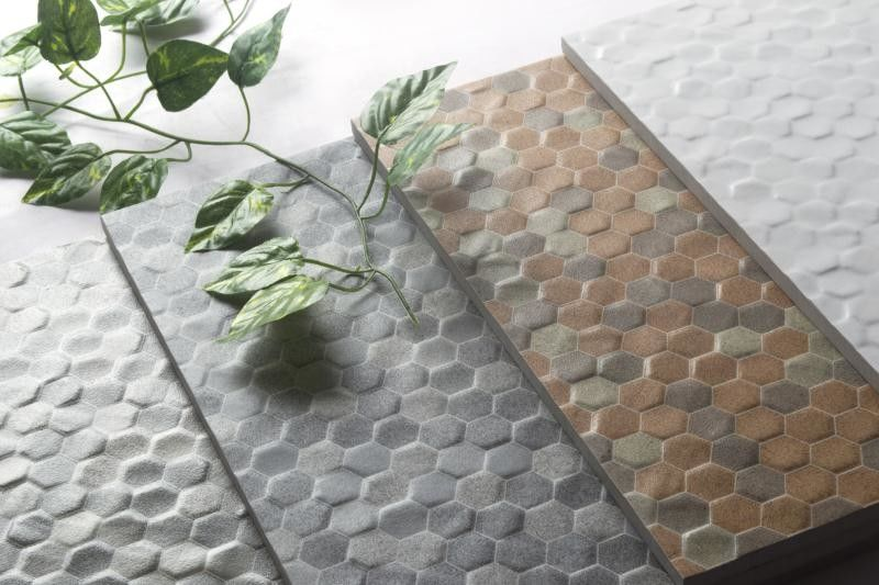 China Honeycomb Glazed Ceramic Wall Tile Corrosion - Resistance Non - Toxic factory