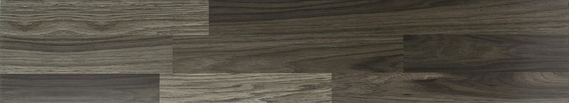 Grey Color Wood Wall Tiles For Bathroom / Wood Look Porcelain Tile