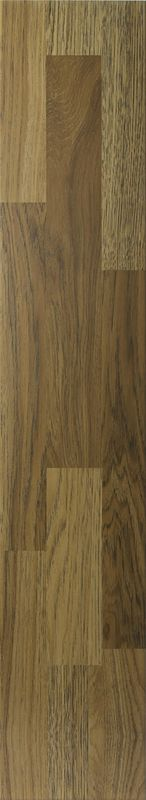 Restaurant Wood Grain Ceramic Floor Tiles For Hotel Lobby Acid - Resistant