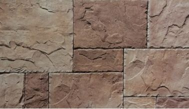 China Villa Artificial Culture Stone Cement Castle Stone Faux Rock For Faux Slate Veneer factory