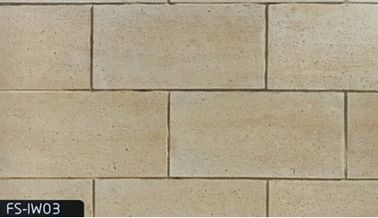 China Heat Insulation Artificial Culture Stone With Multicolor Travertine Design factory