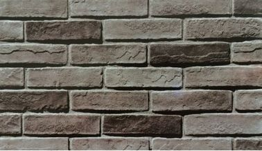 China Durable Faux Brick , Faux Stone Wall Panels Mixed Color For Wall Decoration factory