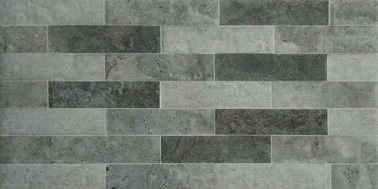 China Glazed Outdoor Ceramic Tile / Outdoor Slate Wall Tiles For Super Market factory
