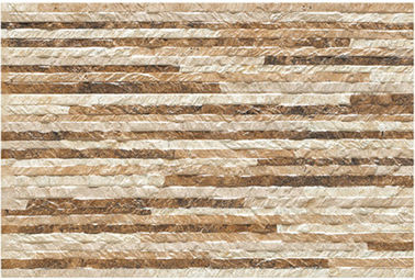 China Glazed Ceramic Tile / Rustic Wall Tiles Stone Like Wall Decoration Ceramic Tile factory