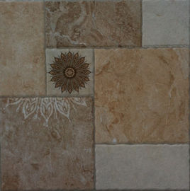 China Wear-Resistant Stone-Like Glazed 400x400mm Ceramic Non-Slip Tiles Multicolor Rustic Tile In Stock factory