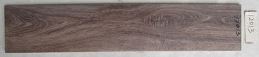 China Trendy Style Ceramic Wood Tile Dark Brown Color With 200 X 1000 Mm Size factory