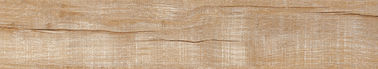 China Scratch Resistant Wood Like Ceramic Tile 150 × 800 Mm Mixed Colors Interior factory