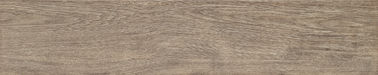 China Wear - Resistant Wood Grain Porcelain Tile 200 × 1000 mm For Shopping Mall White / Brown factory