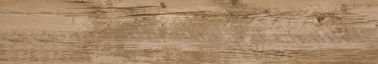 China Interior 150 × 900 Mm Porcelain Wood Effect Bathroom Wall Tiles Commercial factory