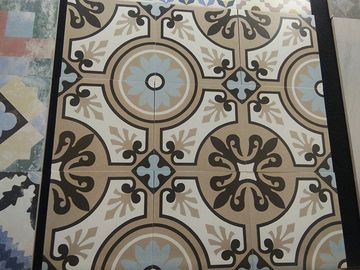 China Multicolor Decorative Ceramic Wall Tile 8.5mm Thinckness Heat Insulation factory
