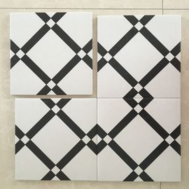 China 20*20cm Decorative Ceramic glazed Tile 8.5mm Intdoor For Walls / Floor factory