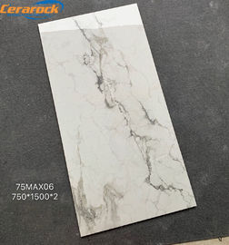 China Grain Pattern Polished Marble Tiles Interior Floor Decoration For Living Room factory