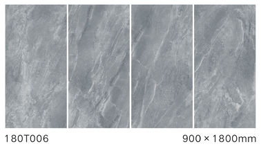 China Gray Color Full Body Polished Marble Tiles Low Water Absorption 900*1800 mm Size factory