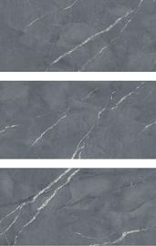 China Full Body Grey Polished Marble Tiles 10mm Thickness Wear - Resistant For Living Room factory
