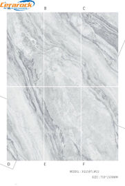China Fashionable Polished Marble Tiles Interior Floor Decoration Material AAA Grade factory