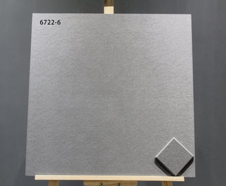 China Grey Non Slip 60*60 cm Homogeneous Floor Tiles Cement For Hotel / Office / Home factory