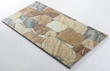 China Non - Slip Porcelain Glazed Tiles Villa Type Culture Stone High Water Proof factory