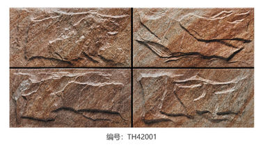 China 10MM Thicknes Exterior Wall Tiles Natural Stone Style Water Absorption 0.5~5% factory