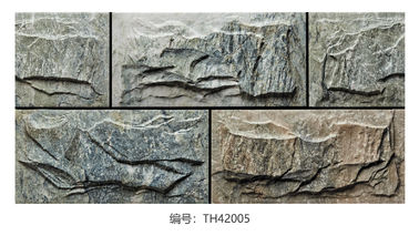 China 20x40cm Granite Outside Rustic Ceramic Tile Beige / Gray Color Matte Finished factory