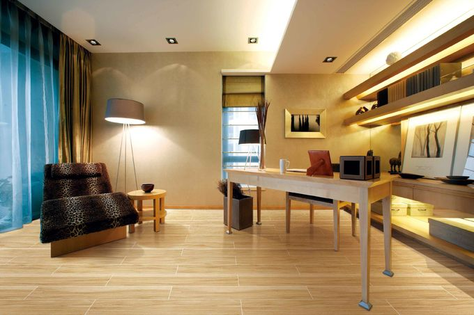 Indoor / Outdoor Wood Wall Tiles Commercial And Residential Grade