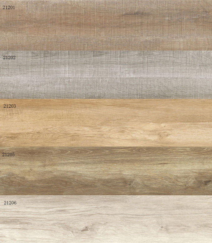 200 × 1200 mm Ceramic Tiles Wood Design Wear - Resistant For Project