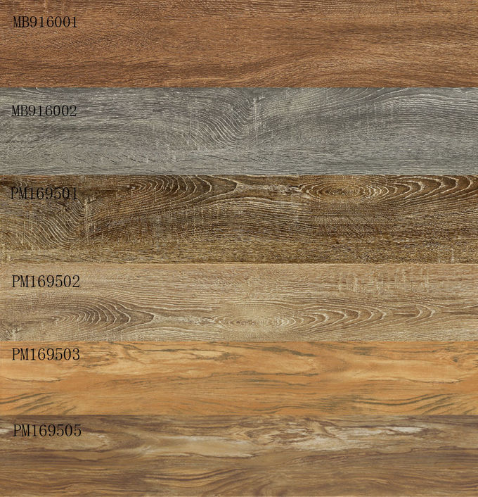 Grade AAA Exterior Wood Effect Ceramic Floor Tiles For Bathroom 160 × 900 Mm